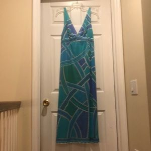 Vintage Pucci women's lounging gown